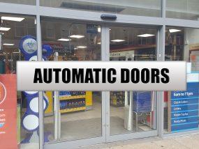 AUTO DOOR NEW