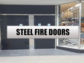 STEEL FIRE DOORS NEW